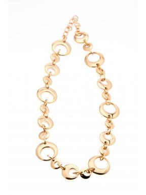Collar Acero Fretsa Antiálergico Baño Oro